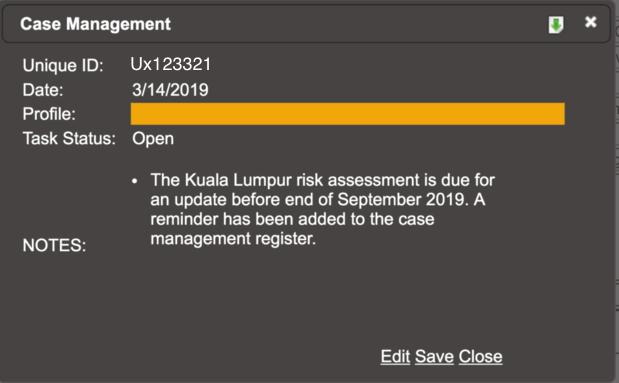 AML Business Risk Assessment